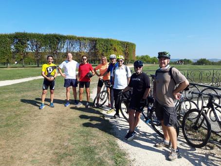 Sunday morning biking trip
