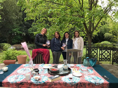 Bookclub meets author