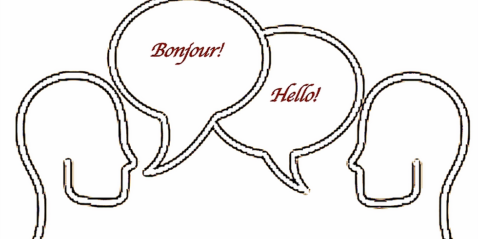 French-English conversation group