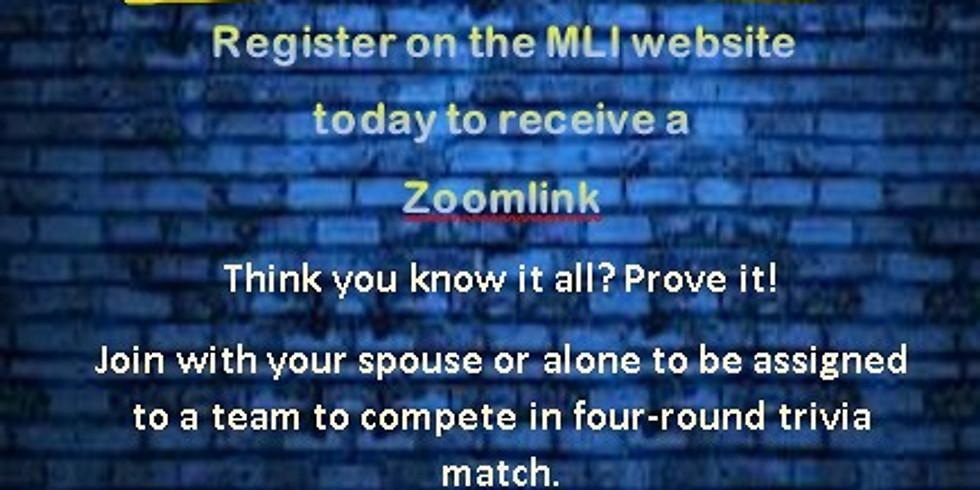 Zoom Trivia Night