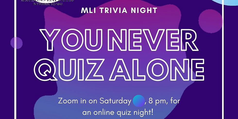 Trivia night: You never quiz alone!