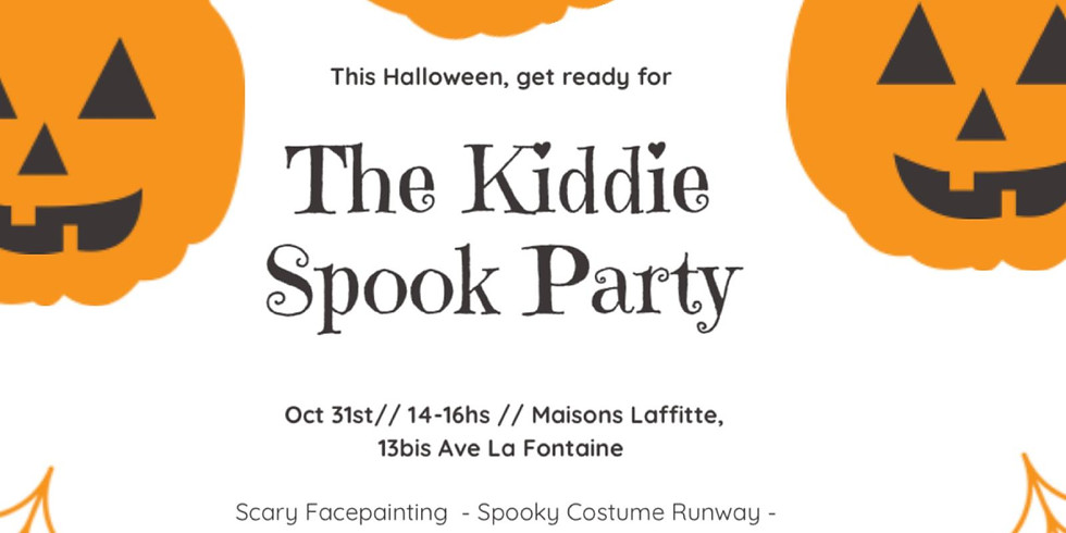 The Kiddie Spook Party