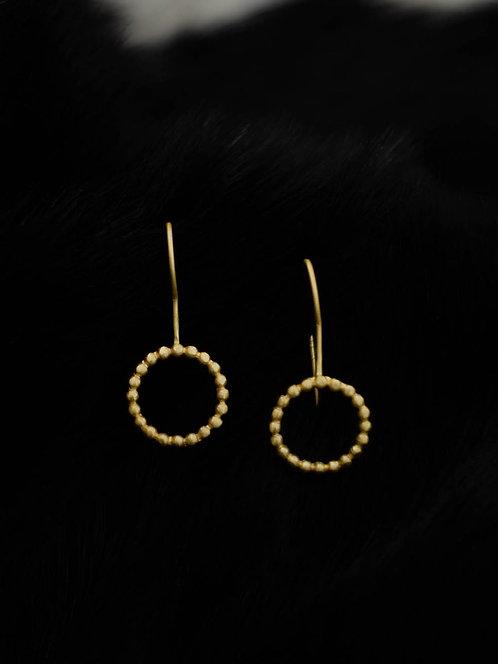 Berserk Gold Plated Ring Loop