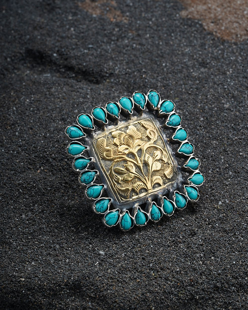 Gold Plated Silver Adorable Ring