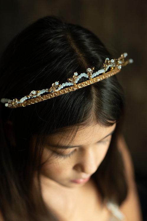 Gold Star Celestial Crown Headband