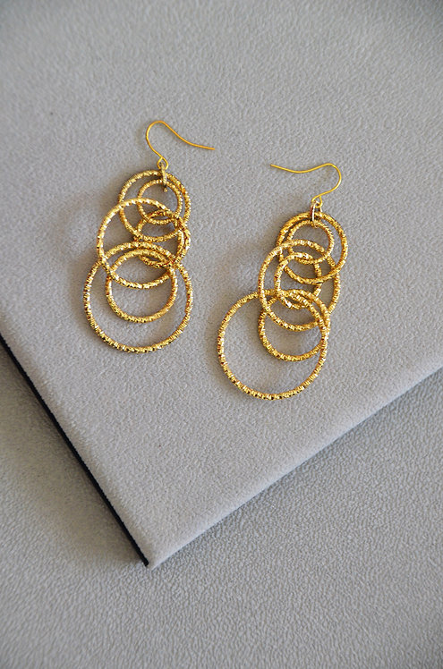 Scarlett Gold Hoop Earrings