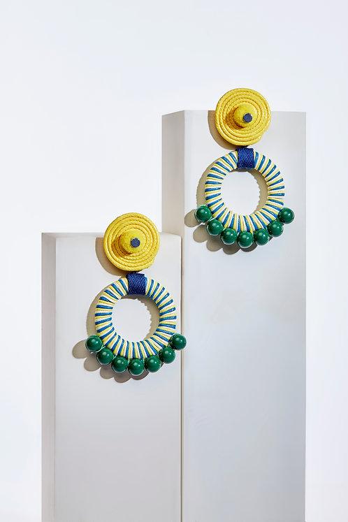 Caroline Spiral Hoop Earrings