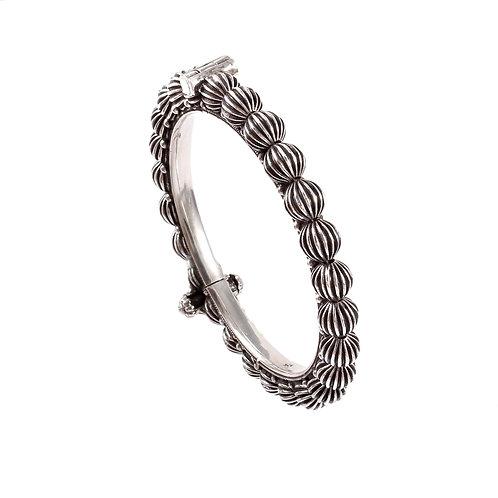 Silver Adorable Unique Design Bangle