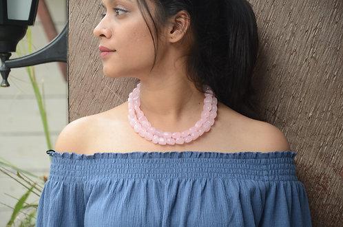 Pastel Onyx Neckpiece