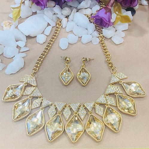 Crystal statement set