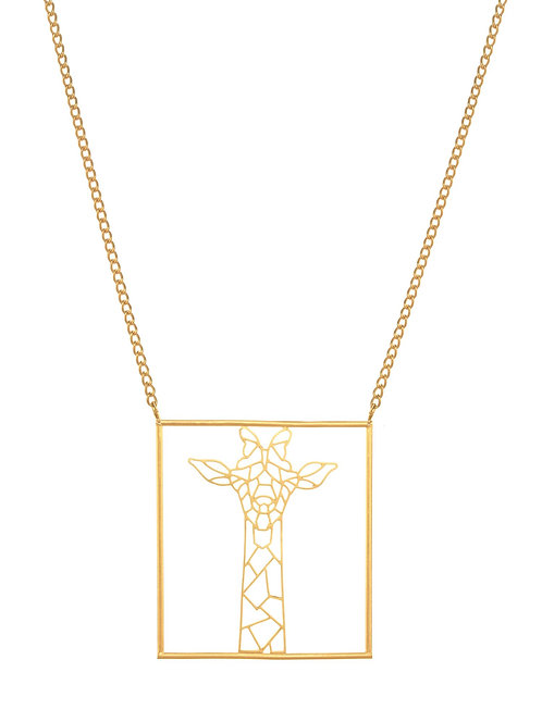 Girafometric necklace