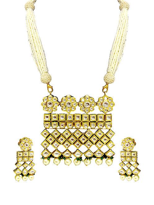 Maharani royal necklace set