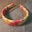 Thumbnail: Multicoloured Woven Print Headband