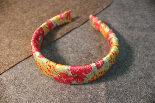 Multicoloured Woven Print Headband