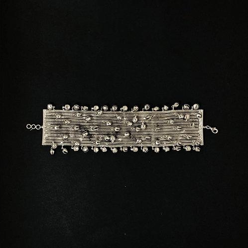 Broad ghooghri bracelet