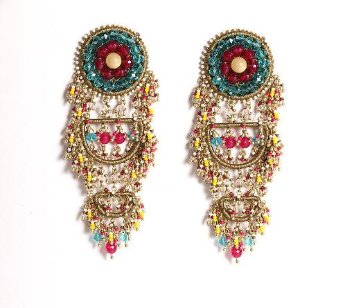 Colour Crest Earrings