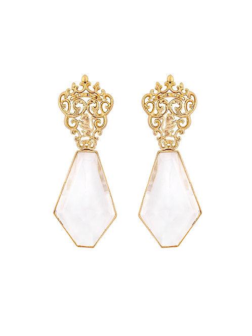 Marguerite crystal earrings