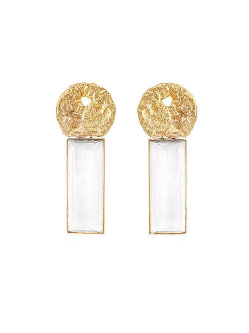 Bonheur crystal earrings