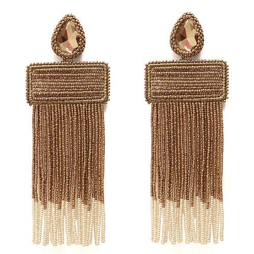Bi-Fringe Earrings