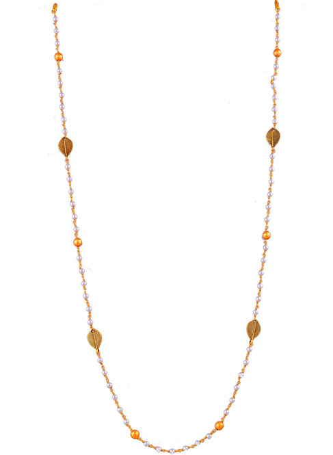 LEAF Pearl  with Brush Gold Balls