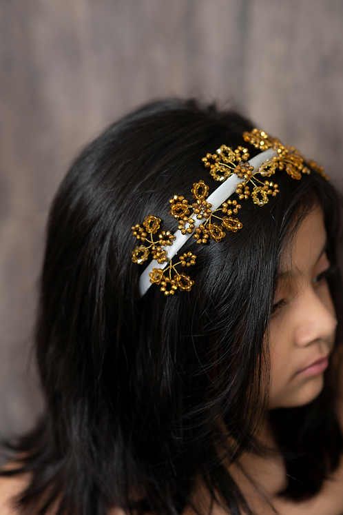 The Isla Designer Crown Garland Headband