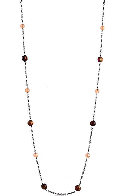 FOREVER Metallic, Golden Glass Beads