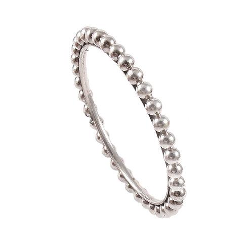 Silver Adorable Designer Beads Bangle