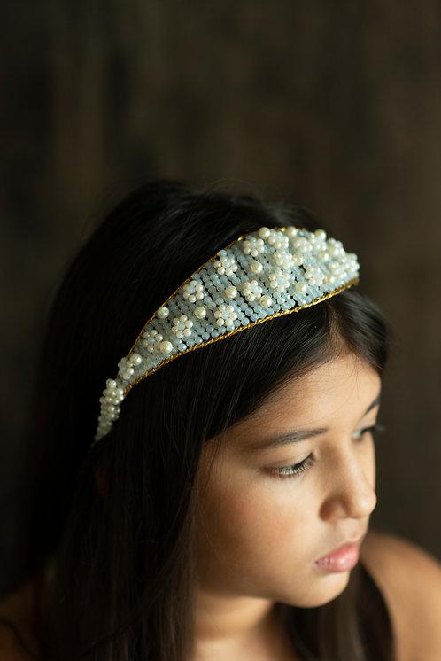 The Imogen Designer Pearl Headband