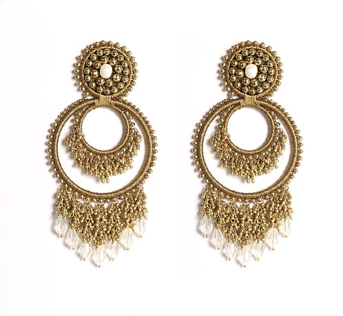 Baroque Ridge Earrings