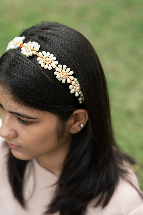 The Lettice Designer Flower Headband
