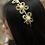 Thumbnail: Layla Designer Crystal Butterfly Headband