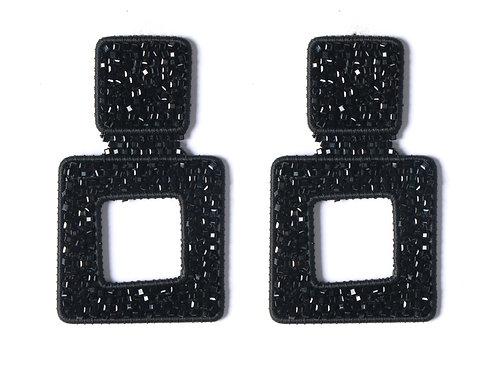 The Black Window Earrings
