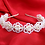 Thumbnail: The Olivia Designer Flower Hairband OR Floral Crystal Hairband