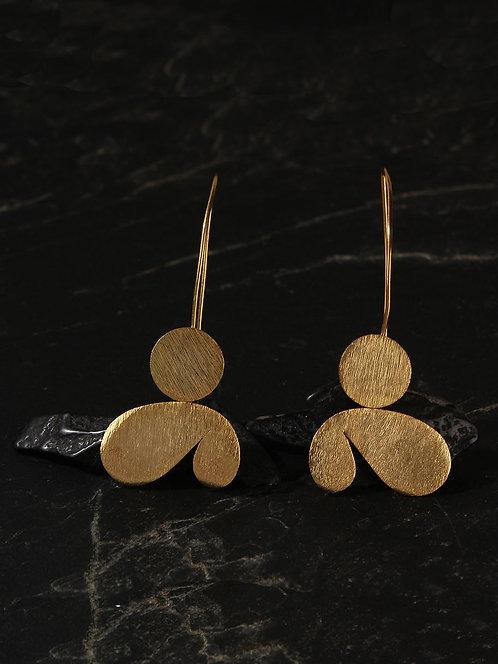 Berserk Gold Plated Paisely Petal Loops
