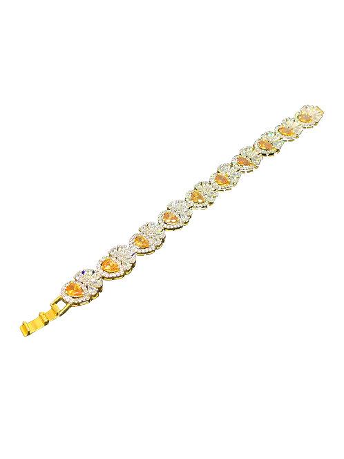 Statement Bracelet - colour stones