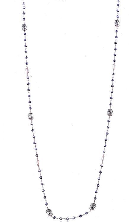 VISTA BUDDHA Metallic Beads