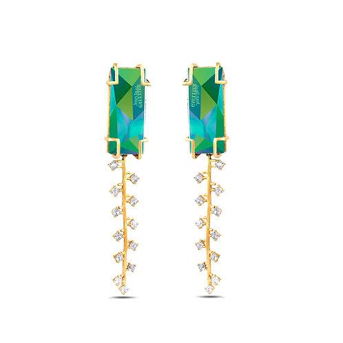 Fulgor Zip Earrings