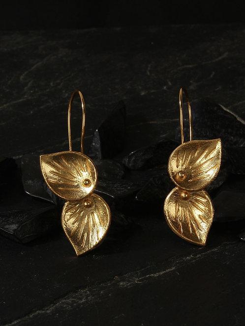 Berserk Gold Plated Petal Loops