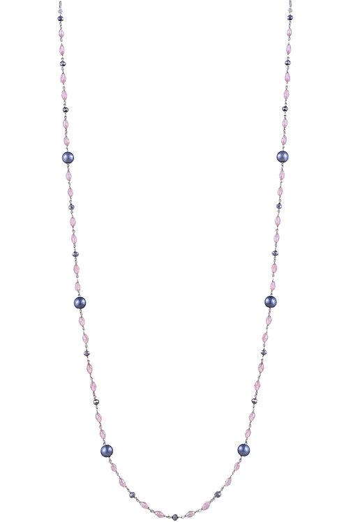FASHIONISTA Black Pearl, Pink Crystals