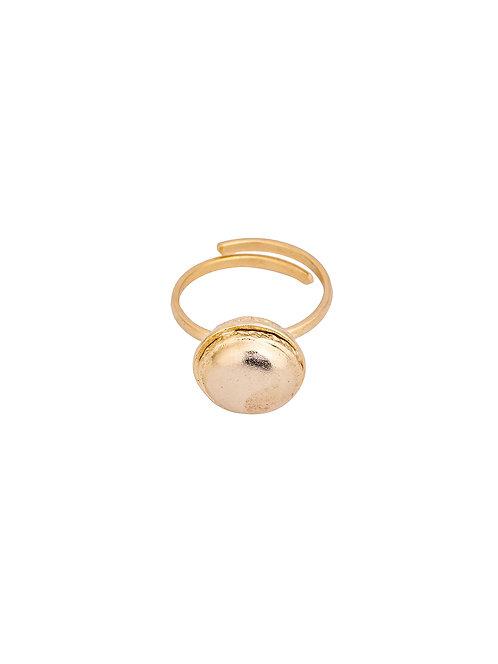 Celeste macaroon ring