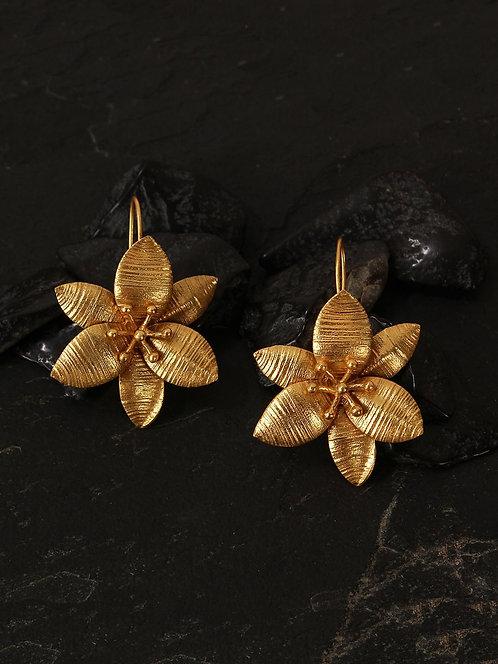 Berserk Gold Plated Lily Loops