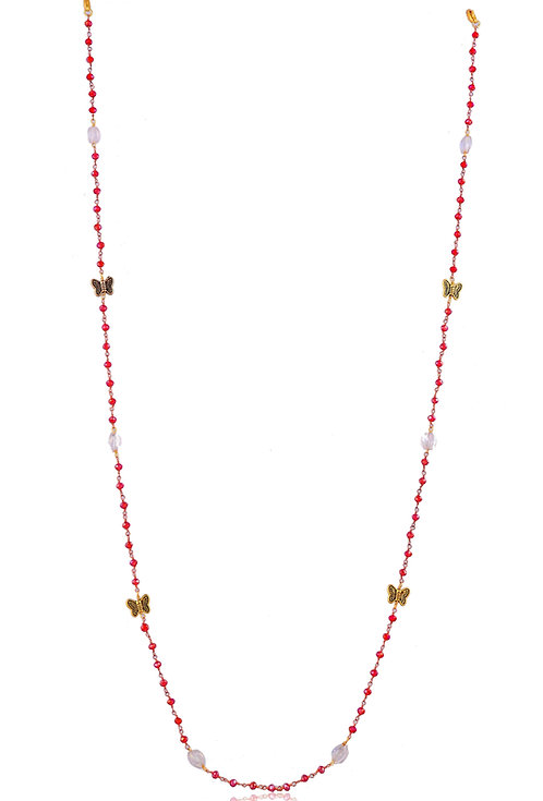 BUTTERFLY  Strawberry Beads