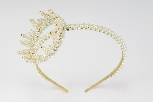 The Iona Designer Crown Headband