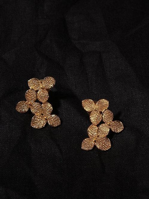 Berserk Gold Plated Trillium Studs