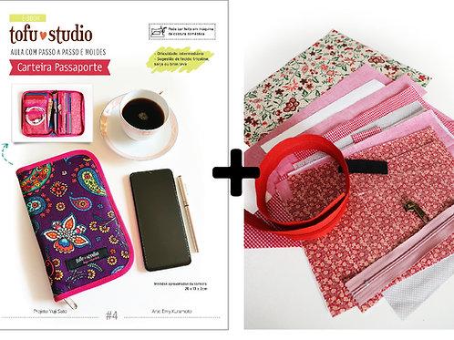 Combo e-book Carteira Passaporte + Kit completo de materiais