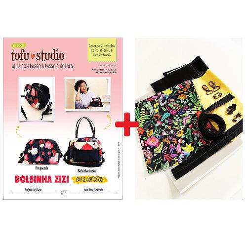 Combo e-book Bolsinha Zizi + Kit completo de materiais
