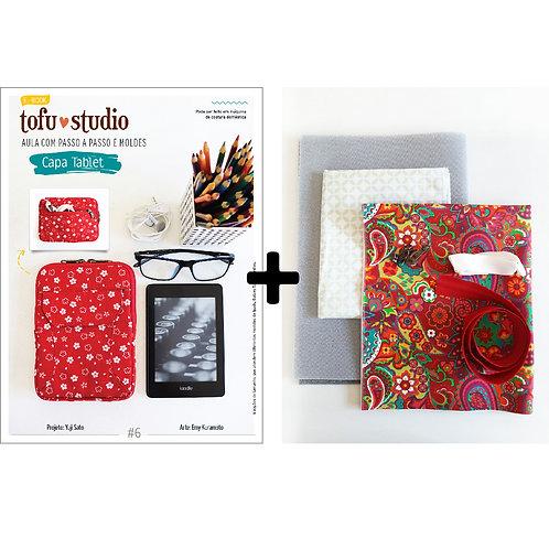Combo e-book Capa Tablet + Kit completo de materiais