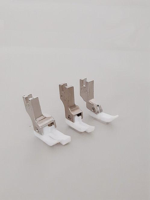 Pés calcadores de teflon para máquina reta industrial