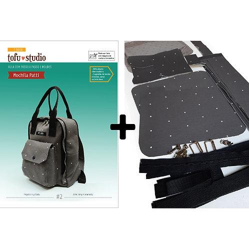 Combo e-book MOCHILA PATTI + Kit COMPLETO de materiais