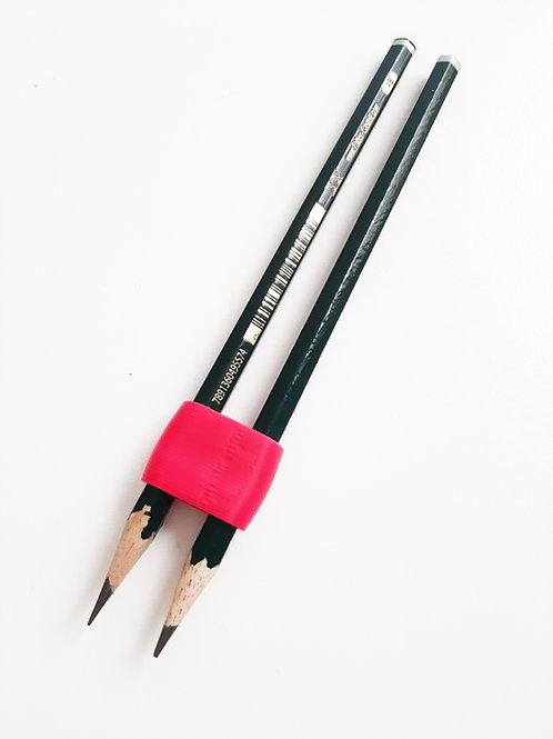 Suporte para lápis duplo